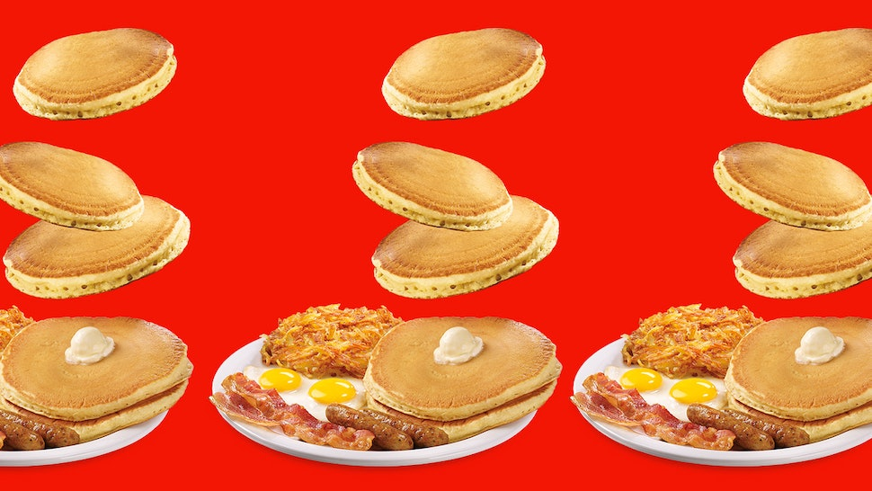 Denny's new Super Duper Slam meal comes with endless pancakes for under $7.