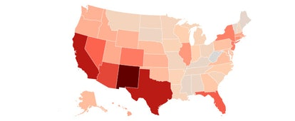 Hispanics play a bigger role in elections in states like New Mexico, where they make up 42.6% of all...