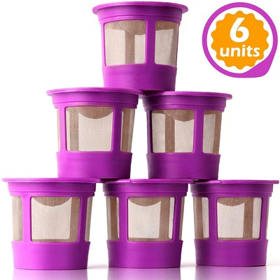 GoodCups 6 Reusable K Cups for Keurig (6-Pack)