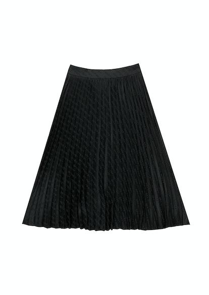 Allover Plisse Skirt