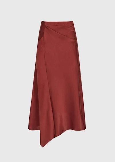Aspen Satin Slip Skirt