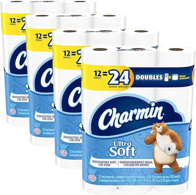 Charmin Ultra Soft Toilet Paper (48-Pack)