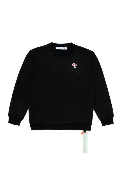Women's Peach Flowers Sweatshirt