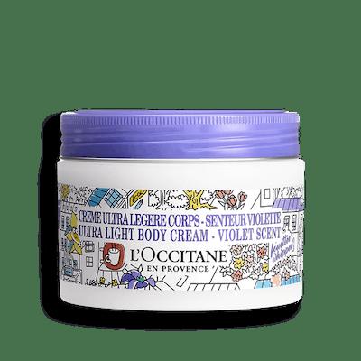 OMY Shea Butter Ultra Light Body Cream Violet Scent