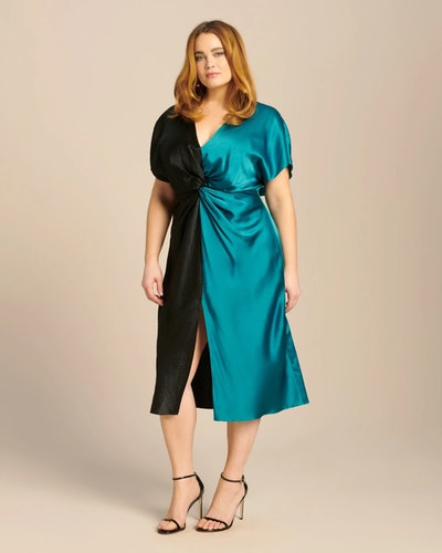 Two-Tone Jackie Dress