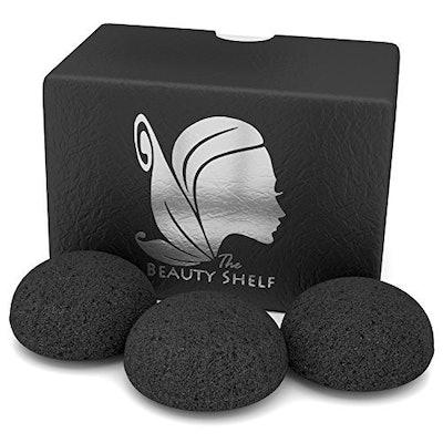 The Beauty Shelf Konjac Sponge (3-Pack)