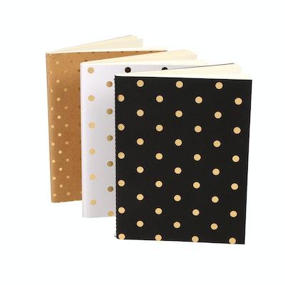 Pen+Gear Polka Dot Bullet Journals (3 Pack)