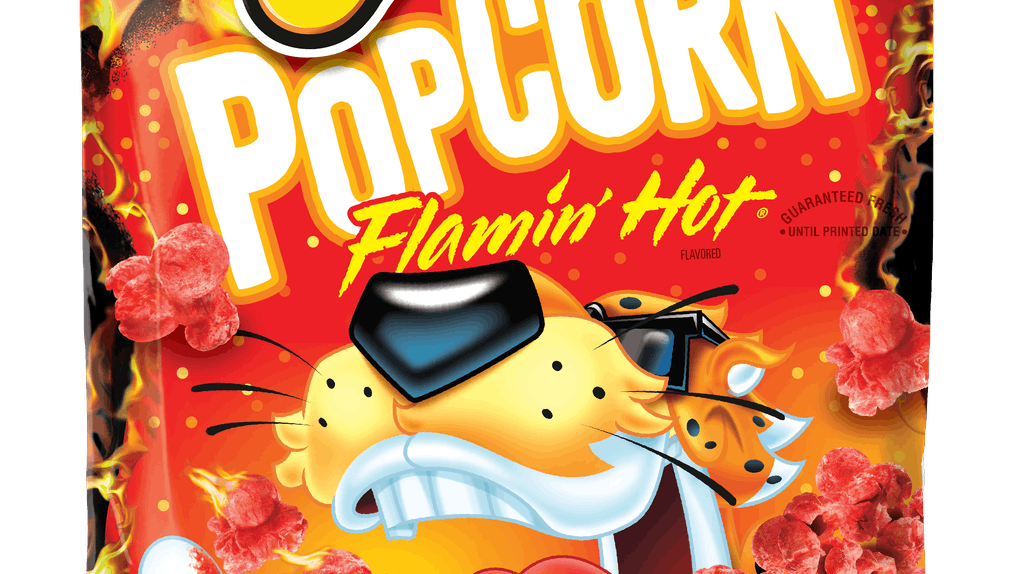 This New Cheetos Popcorn will be coming to stores on Jan. 13.