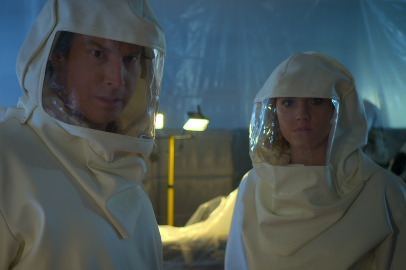 Rob Huebel as Owen and Erinn Hayes as Lola in Medical Police