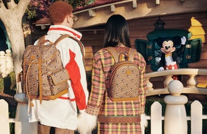 Gucci x Disney celebrates the Chinese New Year.