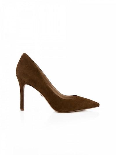 Sam Edelman Brown Hazel Pointed Toe Heels