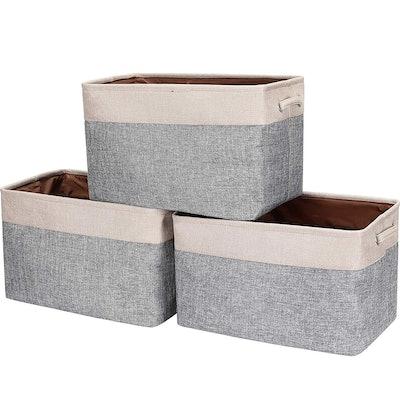HOKEMP Foldable Storage Bins (3-Pack)