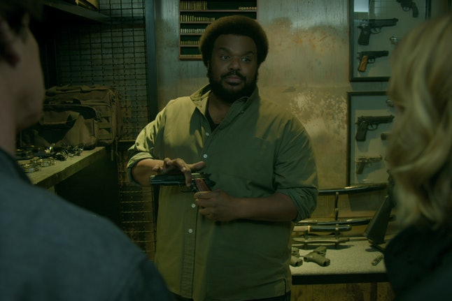 Craig Robinson in 'Medical Police'
