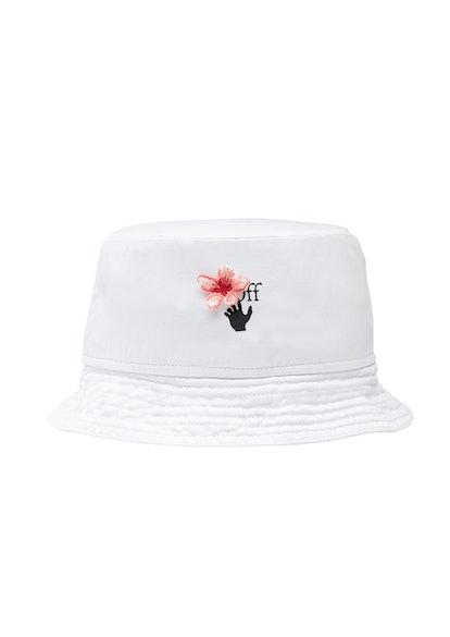 Peach Flowers Bucket Hat
