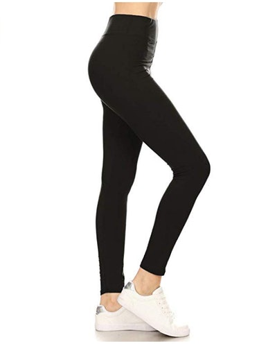 Leggings Depot High Waisted Solid Yoga Leggings