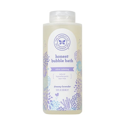 Honest Calming Lavender Hypoallergenic Bubble Bath with Naturally Derived Botanicals