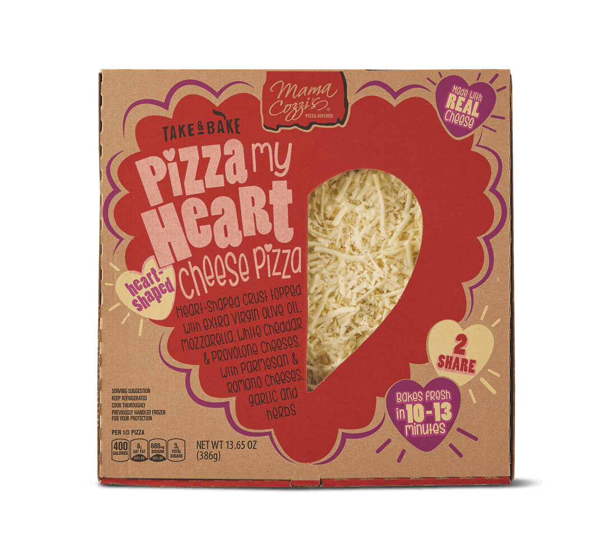 These January 2020 Aldi Finds Include Heart-Shaped Pizza & Cheeses for valentine's day that'll make you so ready to celebrate.