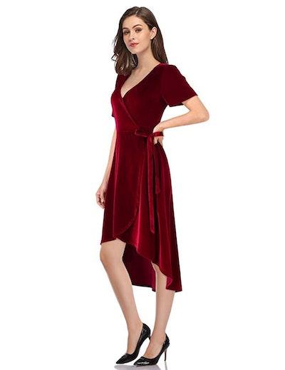 Leadingstar Velvet Party Dress