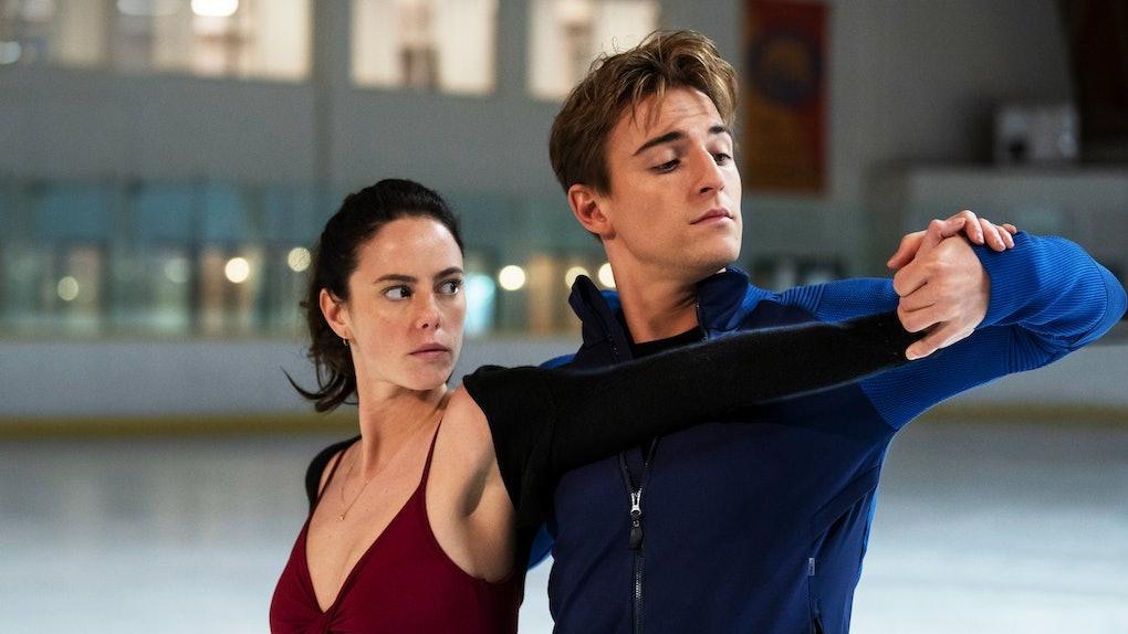 Kaya Scodelario and Evan Roderick in 'Spinning Out'