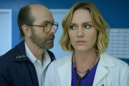 Brian Huskey and Erinn Hayes in 'Medical Hospital'