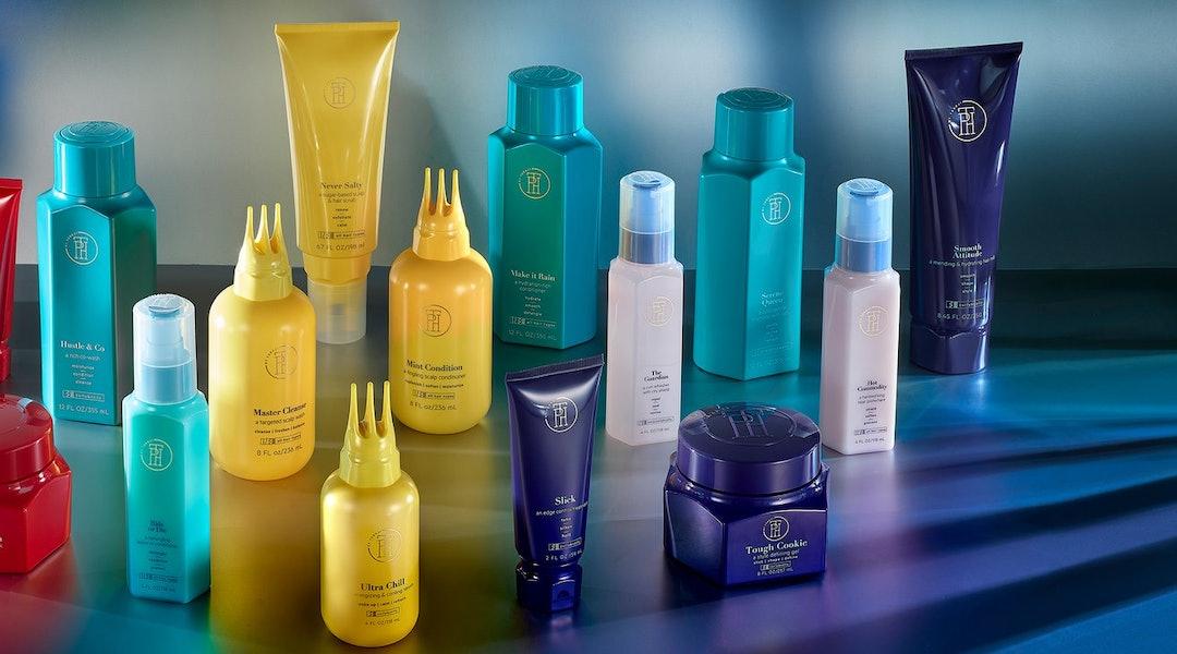 All products from Taraji P. Henson's new hair line, TPH by Taraji