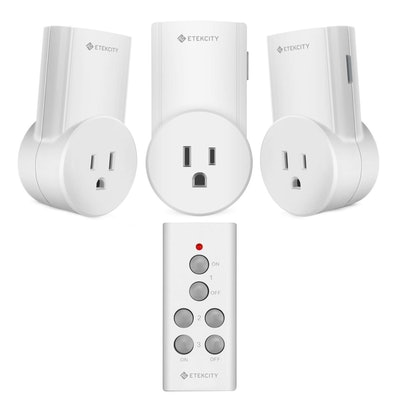 Etekcity Remote Control Outlet Wireless Light Switch for Household Appliances