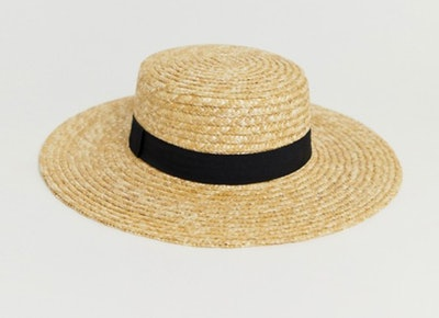 Natural Straw Easy Boater