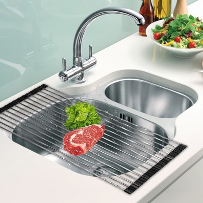 DDMY Over The Sink Dish Rack Roll-Up