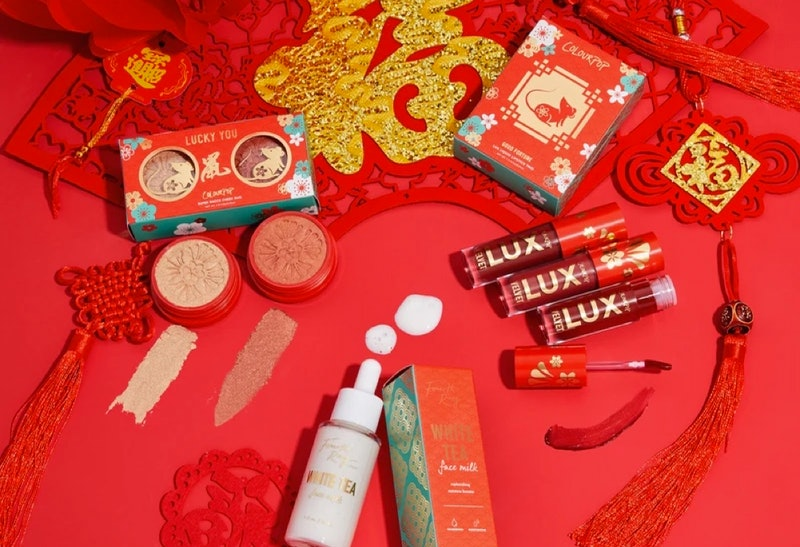 ColourPop's Lunar New Year collection is a playful, celebratory packaging of beauty essentials.
