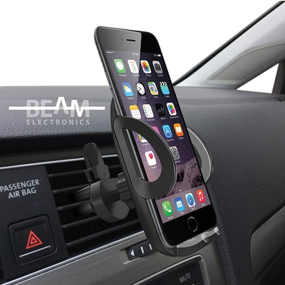 Beam Electronics Universal Smartphone Car Air Vent Mount Holder Cradle