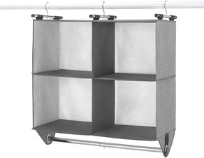 Whitmor 4 Section Fabric Closet Organizer Shelving