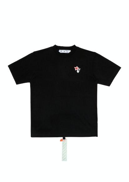 Women's Peach Flowers S/S T-Shirt