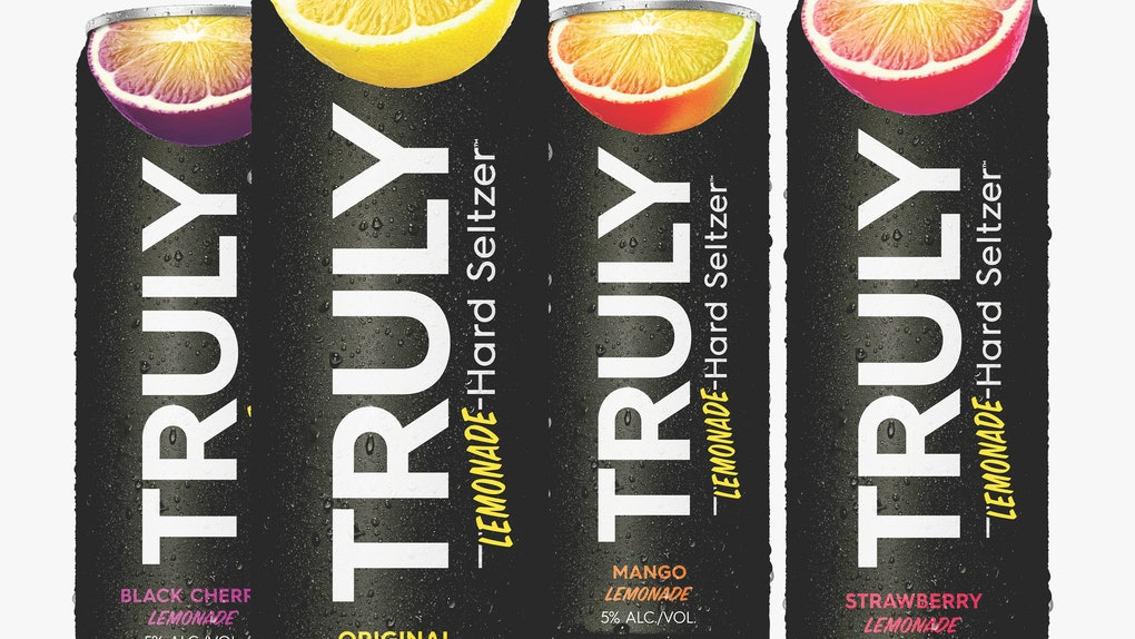 Truly's New Lemonade Hard Seltzer is going to change your hard seltzer game.