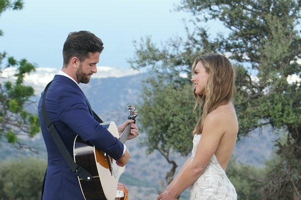 Jed and Hannah on 'The Bachelorette'