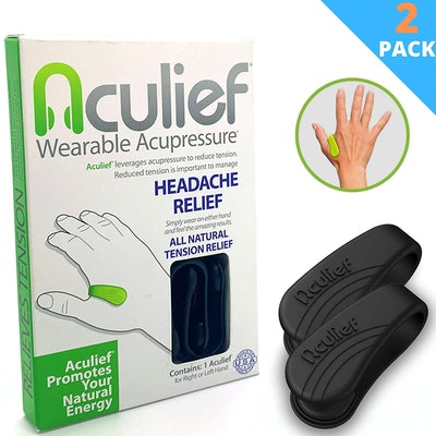 Aculief - Award Winning Natural Headache, Migraine and Tension Relief - Wearable Acupressure