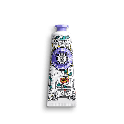 OMY Shea Butter Ultra Light Hand Cream Violet Scent