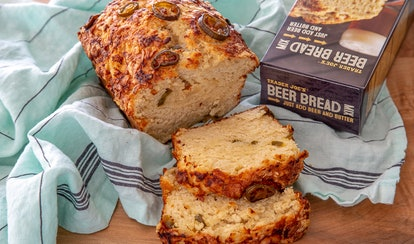 Trader Joe's beer bread mix was made for dunking in soup or chili.