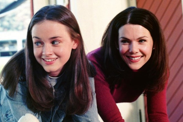 Rory and Lorelai in 'Gilmore Girls'