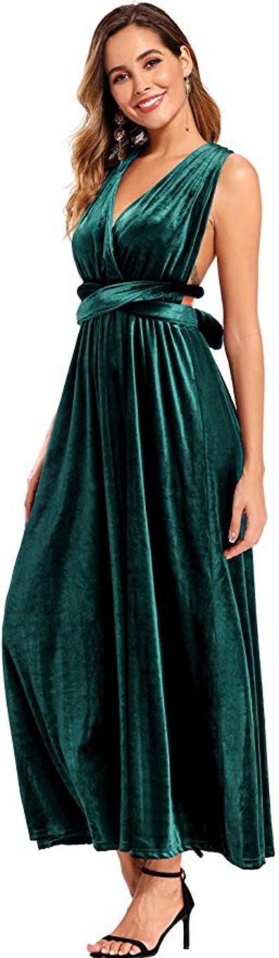 Ababalaya Midi Dress