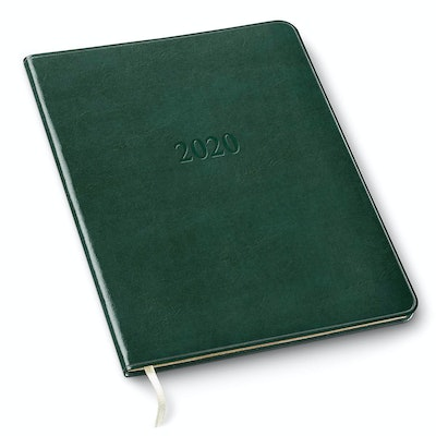 Gallery Leather 2020 Large Weekly Leather Planner