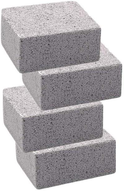 Elaziy Grill Griddle Cleaning Bricks (4-Pack)