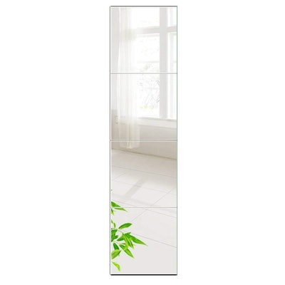 Beauty4U Tall Mirror Tiles (4-Pack)