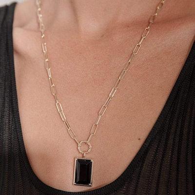 Biggie Onyx Necklace