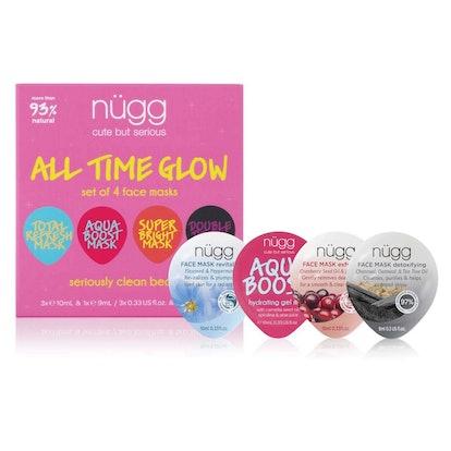 nügg Face Mask Glow Kit (4-Pack)