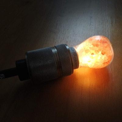 Himalayan Glow Natural Salt Light Bulb