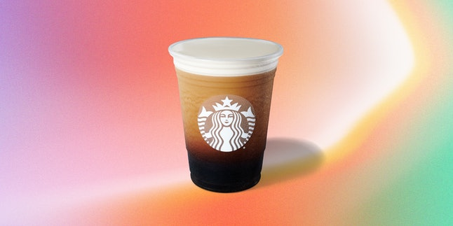Starbucks Nitro Cold brew is vegan and will satisfy your craving for something frothy.