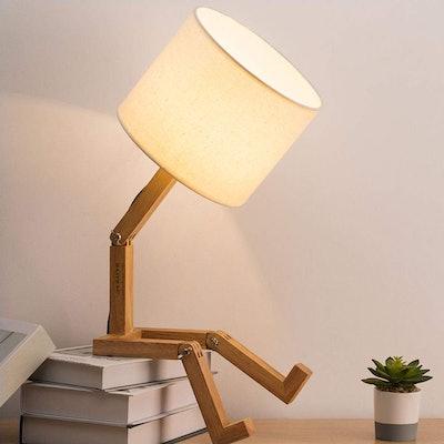 HAITRAL Swing Arm Desk Lamp