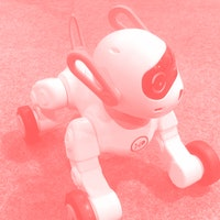 A tumbling robo-dog that doubles as a Bluetooth speaker stole my heart