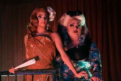 Valentina and Eureka O Hara in AJ and the Queen.