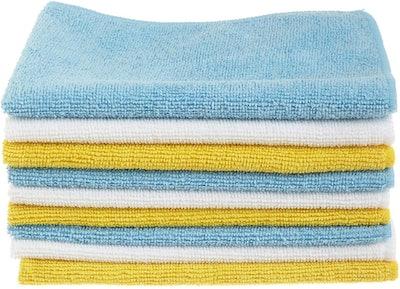 AmazonBasics Microfiber Cleaning Cloths (24-Pack)